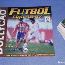 Cromos de Fútbol: ALBUM DE CROMOS DE FUTBOL Y 179 CROMOS BOLLYCAO LIGA 96/97 EN MUY BUEN ESTADO TODO. Lote 199245670