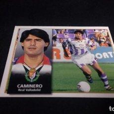 Cromos de Fútbol: CAMINERO VALLADOLID SIN PEGAR PANINI EDICIONES ESTE LIGA TEMPORADA 1998 1999 98 99 . Lote 199258350