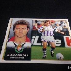 Cromos de Fútbol: JUAN CARLOS VALLADOLID SIN PEGAR PANINI EDICIONES ESTE LIGA TEMPORADA 1998 1999 98 99 . Lote 199258357