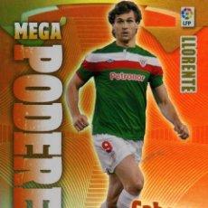 Cromos de Fútbol: MEGACRACKS 2011-2012 Nº 388 LLORENTE - ATHLETIC CLUB DE BILBAO. Lote 199258366