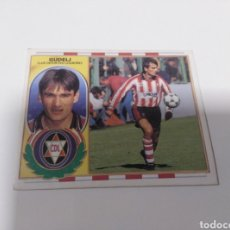 Cromos de Fútbol: CROMO EDICIONES ESTE LIGA 96 97 BAJA GUDELJ LOGROÑÉS SIN PEGAR. Lote 199258390