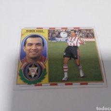 Cromos de Fútbol: CROMO EDICIONES ESTE LIGA 96 97 COLOCA RUBÉN SOSA LOGROÑÉS SIN PEGAR. Lote 199258417
