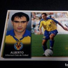 Cromos de Fútbol: ALBERTO VILLARREAL SIN PEGAR PANINI EDICIONES ESTE LIGA TEMPORADA 1998 1999 98 99 . Lote 199258468