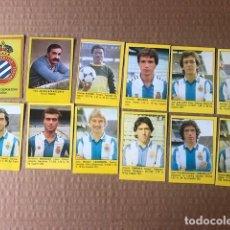 Cromos de Fútbol: SUPER FUTBOL 84 ROLLAN ESPAÑOL ESPANYOL LOTE C4. Lote 199320743