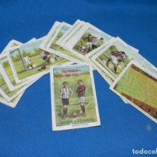 Cromos de Fútbol: COLECCION COMPLETA - ENSEÑANZA DEL JUEGO DE FOOT-BALL ASOCIACION , COLECCION DE 25 CROMOS , AÑOS 20 . Lote 199357643