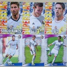 Figurine di Calcio: LOTE 10 FICHAS REAL MADRID MUNDICROMO 2013 2014 13 14.. Lote 199359190