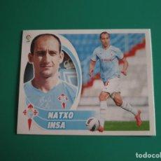 Cromos de Fútbol: 11 NATXO INSA - CELTA - EDICIONES ESTE LIGA 2012-13 - 12/13 (NUEVO). Lote 199374926