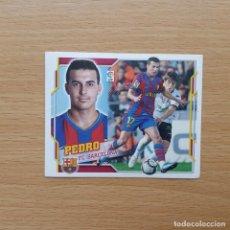 Cromos de Fútbol: 13 PEDRO FC BARCELONA COLECCIONES ESTE LIGA 2010 2011 10 11 SIN PEGAR NUNCA PEGADO. Lote 199374955