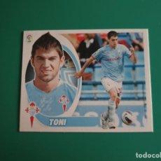 Cromos de Fútbol: 13 TONI - CELTA - EDICIONES ESTE LIGA 2012-13 - 12/13 (NUEVO). Lote 199374983