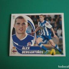 Cromos de Fútbol: 8 A ÁLEX BERGANTIÑOS - DEPORTIVO CORUÑA - EDICIONES ESTE LIGA 2012-13 - 12/13 (NUEVO). Lote 199375340