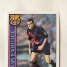 Figurine di Calcio: MUNDICROMO LAS FICHAS DE LA LIGA 2001 LUIS ENRIQUE N° 35 BARCELONA. Lote 233219135