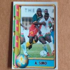 Cromos de Fútbol: CROMO Nº 136 A. SIMO MUNDIAL DE FRANCIA 98 EDICIONES ESTADIO. NUEVO DE SOBRE.. Lote 199737571