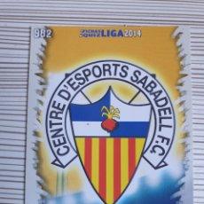 Cromos de Fútbol: 982 ESCUDO SABADELL MATE MUNDICROMO 2013 2014 PLATINUM 13 14. Lote 199764271