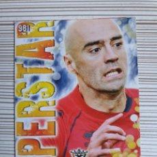 Cromos de Fútbol: 971 PABLO MIRANDES SUPERSTAR MATE MUNDICROMO 2013 2014 PLATINUM 13 14. Lote 199764795