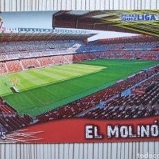 Cromos de Fútbol: 875 ESTADIO EL MOLINON MATE MUNDICROMO 2013 2014 PLATINUM 13 14. Lote 199767417