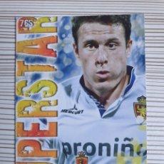 Cromos de Fútbol: 765 HENRIQUEZ ZARAGOZA SUPERSTAR MATE MUNDICROMO 2013 2014 PLATINUM 13 14. Lote 199835831
