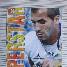 Cromos de Fútbol: 764 BARKERO ZARAGOZA SUPERSTAR MATE MUNDICROMO 2013 2014 PLATINUM 13 14. Lote 199846420