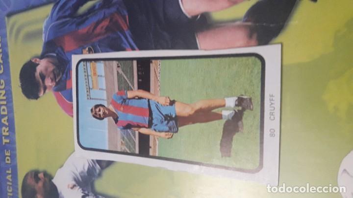 CRUYFF EN SU PRIMER Y MAS DIFICIL CROMO DE LA LIGA ESPAÑOLA DE FUTBOL 1973-74 DE RUIZ ROMERO (Coleccionismo Deportivo - Álbumes y Cromos de Deportes - Cromos de Fútbol)