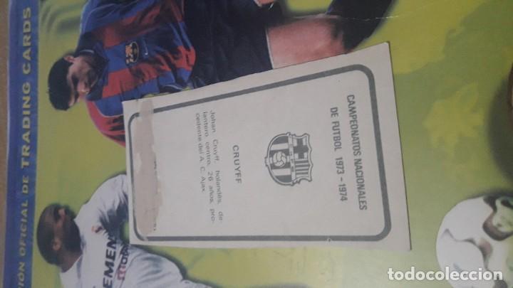 Cromos de Fútbol: CRUYFF EN SU PRIMER Y MAS DIFICIL CROMO DE LA LIGA ESPAÑOLA DE FUTBOL 1973-74 DE RUIZ ROMERO - Foto 2 - 199867375