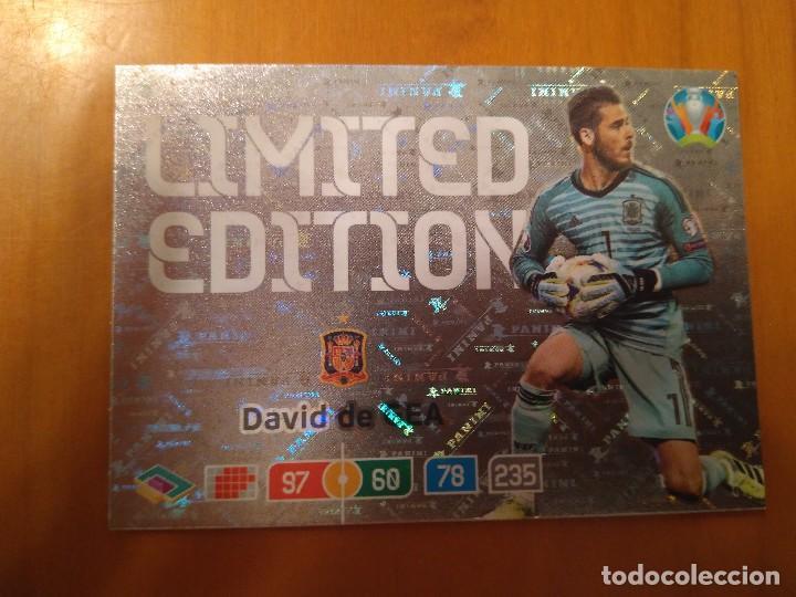 Limited Edition Panini Adrenalyn XL Euro 2020 David De Gea