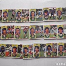Cromos de Fútbol: LOTE 19 CROMOS DE FUTBOL ED. ESTE LIGA 1996-97, TODO BAJAS. DIFERENTES Y SIN PEGAR. Lote 200069683