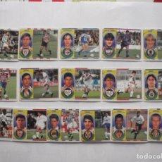Cromos de Fútbol: LOTE 16 CROMOS DE FUTBOL ED. ESTE LIGA 1996-97, TODO BAJAS. DIFERENTES Y SIN PEGAR. Lote 200069965