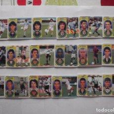 Cromos de Fútbol: LOTE 18 CROMOS DE FUTBOL ED. ESTE LIGA 1996-97, TODO FICHAJES. DIFERENTES Y SIN PEGAR. Lote 200070770