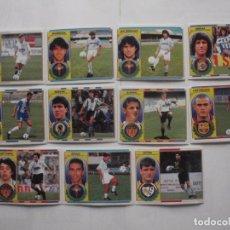 Cromos de Fútbol: LOTE 11 CROMOS DE FUTBOL ED. ESTE LIGA 1996-97, TODO FICHAJES. DIFERENTES Y SIN PEGAR. Lote 200070950