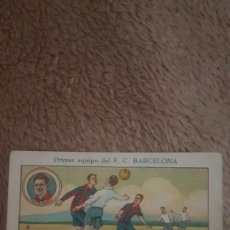 Cromos de Fútbol: CROMO F.C BARCELONA. Lote 200161737