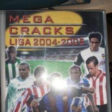 Cromos de Fútbol: ALBUM MEGA CRACKS LIGA 2004 - 2005.PANINI.CON 113 TRADING CARDS.. Lote 200392110