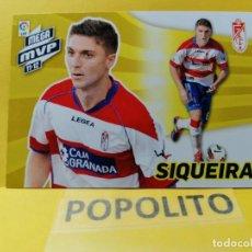 Cromos de Futebol: 430 SIQUEIRA (GRANADA) MEGA MVP MEGACRACKS 2012 2013. Lote 200833707