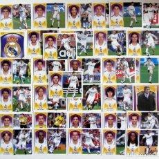 Cromos de Fútbol: EDICIONES ESTE 2009-10 REAL MADRID 33 CROMOS IMAGEN DOBLE CRISTIANO RONALDO KAKA ALBIOL. Lote 201151180