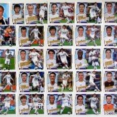 Cromos de Fútbol: EDICIONES ESTE 2010-11 REAL MADRID 25 CROMOS CRISTIANO RONALDO. Lote 201151641