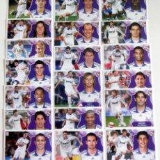 Cromos de Fútbol: EDICIONES ESTE 2008-09 REAL MADRID 19 CROMOS. Lote 231238780
