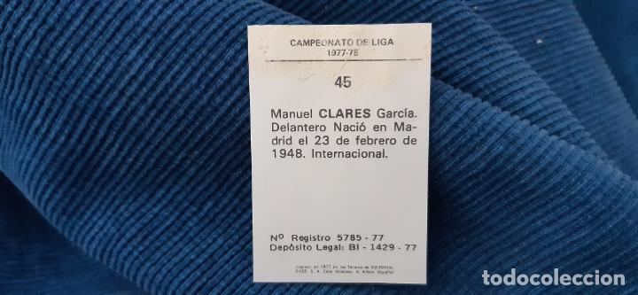 Cromos de Fútbol: 1977 78 77 78 DISGRA FHER BARCELONA clares - Foto 2 - 201214956