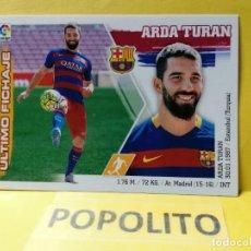 Cromos de Futebol: 8 ARDA TURAN (BARCELONA) ULTIMOS FICHAJES ESTE 2015 2016. Lote 201368206
