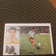 Figurine di Calcio: EDICIONES ESTE 82 83 MARIO RACING SANTANDER VERSIÓN RAYAS. Lote 202286122