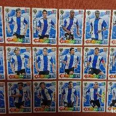 Cartes à collectionner de Football: LOTE ADRENALYN 2010 2011 18 CROMOS DEL HERCULES ADRENALYN 10 11 NINGUNO REPETIDO. Lote 202321246