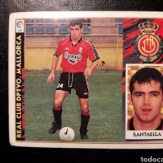 Cromos de Fútbol: SANTAELLA MALLORCA. BAJA. ESTE 1997-1998 97 98. SIN PEGAR. VER FOTOS DE FRONTAL Y TRASERA. Lote 219031008