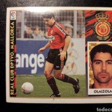 Cromos de Fútbol: OLAIZOLA MALLORCA. ESTE 1997-1998 97 98. SIN PEGAR. VER FOTOS DE FRONTAL Y TRASERA. Lote 219031010