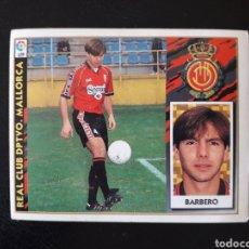 Cromos de Fútbol: BARBERO MALLORCA. ESTE 1997-1998 97 98. SIN PEGAR. VER FOTOS DE FRONTAL Y TRASERA. Lote 219031015