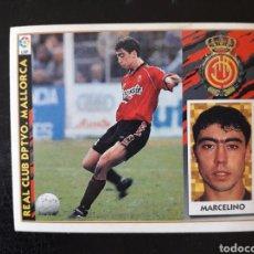 Cromos de Fútbol: MARCELINO MALLORCA. ESTE 1997-1998 97 98. SIN PEGAR. VER FOTOS DE FRONTAL Y TRASERA. Lote 219031020
