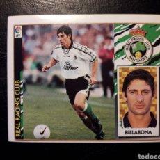 Cromos de Fútbol: BILLABONA RACING DE SANTANDER. ESTE 1997-1998 97 98. SIN PEGAR. VER FOTOS DE FRONTAL Y TRASERA. Lote 219031026