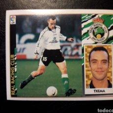Cromos de Fútbol: TXEMA RACING DE SANTANDER. ESTE 1997-1998 97 98. SIN PEGAR. VER FOTOS DE FRONTAL Y TRASERA. Lote 219031032