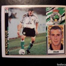 Cromos de Fútbol: IÑAKI RACING DE SANTANDER. ESTE 1997-1998 97 98. SIN PEGAR. VER FOTOS DE FRONTAL Y TRASERA. Lote 219031035