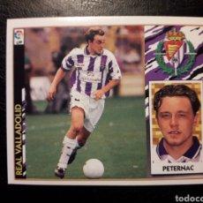 Cromos de Fútbol: PETERNAC VALLADOLID. ESTE 1997-1998 97 98. SIN PEGAR. VER FOTOS DE FRONTAL Y TRASERA. Lote 219031037