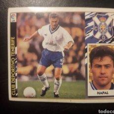 Cromos de Fútbol: HAPAL TENERIFE. ESTE 1997-1998 97 98. SIN PEGAR. VER FOTOS DE FRONTAL Y TRASERA. COLOCA. Lote 219031041