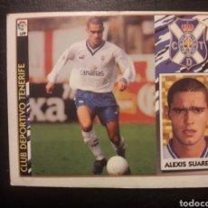 Cromos de Fútbol: ALEXIS SUÁREZ TENERIFE. ESTE 1997-1998 97 98. SIN PEGAR. VER FOTOS DE FRONTAL Y TRASERA. Lote 219031060