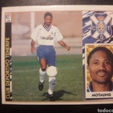 Cromos de Fútbol: MOTAUNG TENERIFE. ESTE 1997-1998 97 98. SIN PEGAR. VER FOTOS DE FRONTAL Y TRASERA. Lote 219031062
