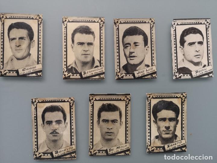 Cromos de Fútbol: DIFICIL LOTE 10 CROMOS C.D. LAS PALMAS 1959 1960 59 60 ED FHER FUTBOL LIGA GRAN CANARIA MBCONSERVAC* - Foto 2 - 202957458